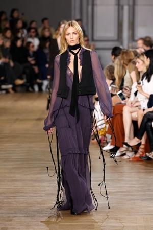 Chloe show at Paris Fashion week FW 15 Ready to Wear