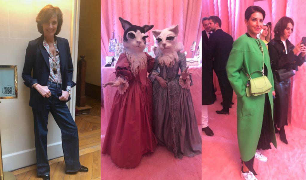 藤岡篤子の毎日コレクション! ロジェ ヴィヴィエの展示会で、サウジアラビアの姫とイネス・ド・ラ・フレサンジュに遭遇<2020年パリコレクション DAY3>