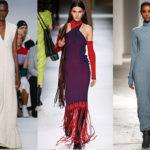 2020-21 秋冬コレクション   ~シンプルなニット素材 シースドレスの存在感が圧倒的!
