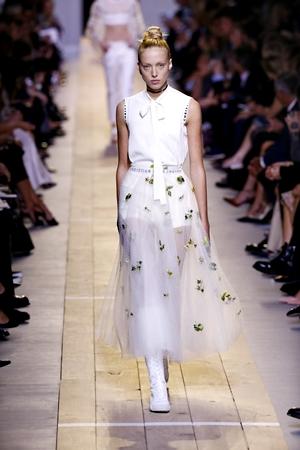 Christian Dior Paris Fashion Week Ready to Wear Spring Summer 2017